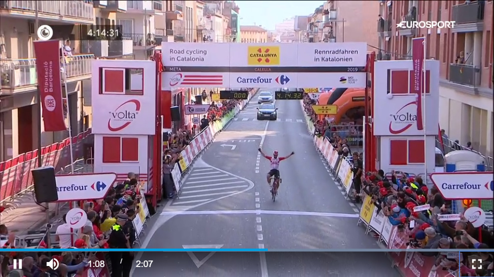 Volta a Catalunya - Stage 1 - 2019